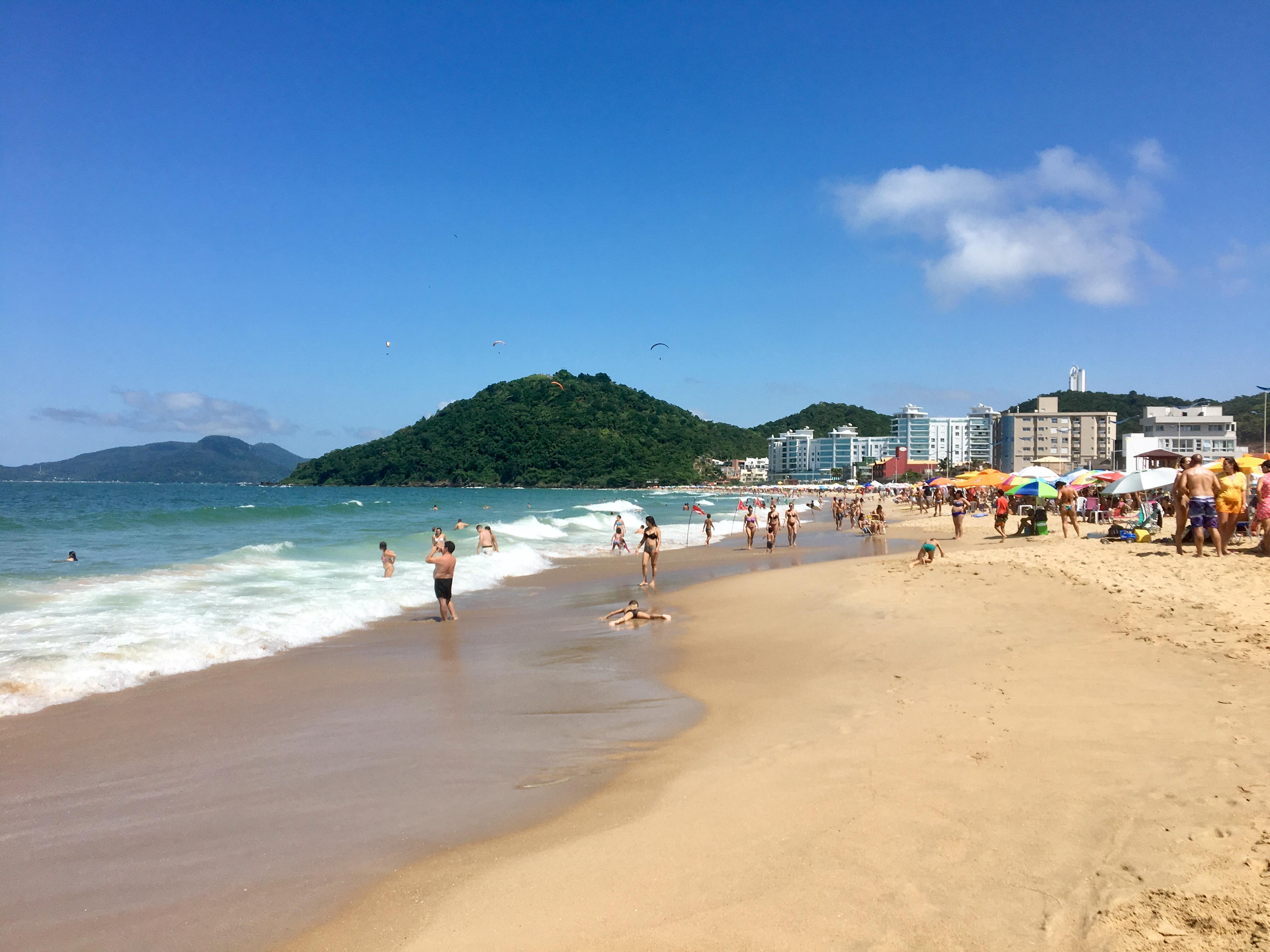 Orla da Praia Brava, em Itajaí