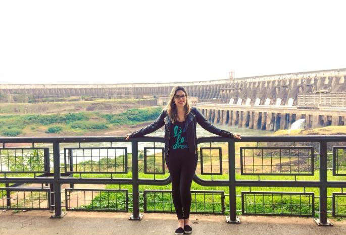 Mirante para a Barragem de Itaipu