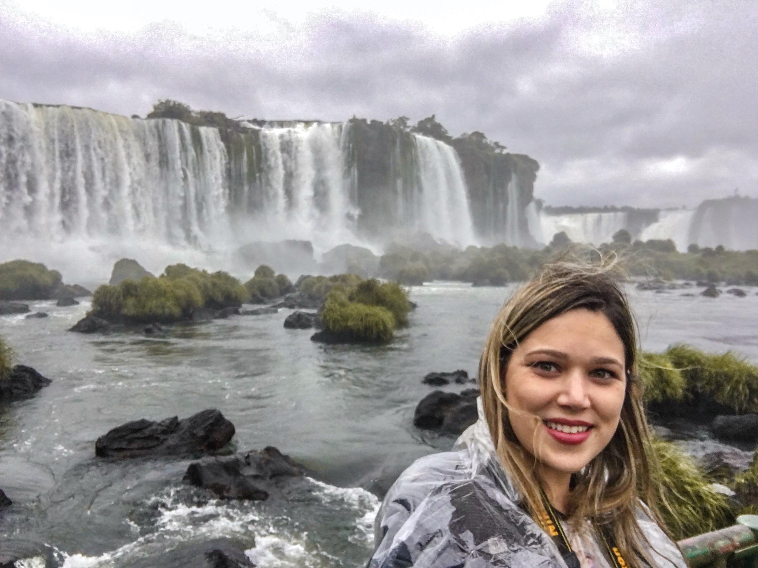 Vista das principais quedas d'água das Cataratas do Iguaçu